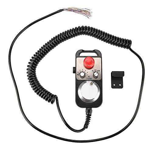 koulate Universelles elektronisches Handrad, manueller Impulsgeber CNC Handlicher Impulsgeber 5V