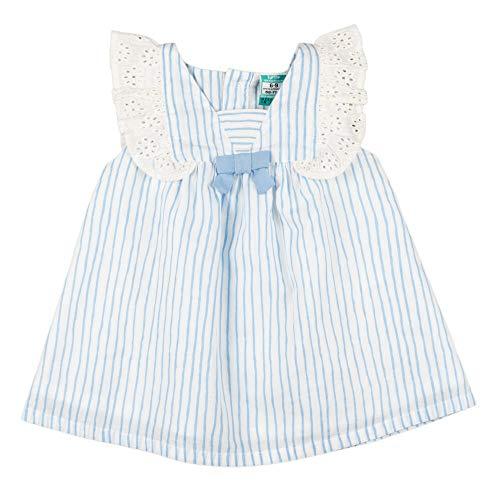 Top Top VORTUNA Vestido, LISTADO, 24-36 para Bebés