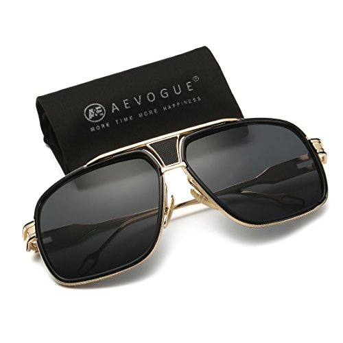 AEVOGUE Sunglasses For Men Goggle Alloy Frame Brand Designer AE0336