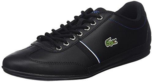 Lacoste Herren Misano Sport 118 1 Cam Sneaker, Schwarz (Blk/Dk Blu), 41 EU