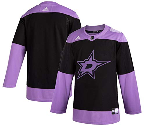 adidas Dallas Stars Men's Hockey Fights Cancer Authentic Pro Jersey (50/M)