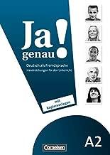 JA Genau!: Handreichungen Fur Den Unterricht A2 Band 1 & 2 (German Edition)