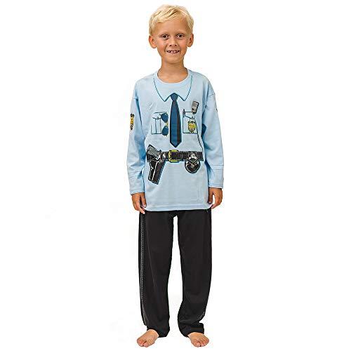 Pijama de Policía de New York y Ropa Casera Divertida (7-8 Anõs)