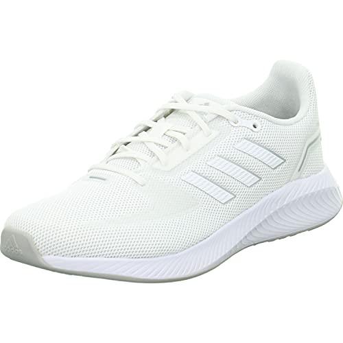 Adidas RUNFALCON 2.0, Zapatillas Mujer, Ftwbla Ftwbla Plamet, 39 1/3 EU