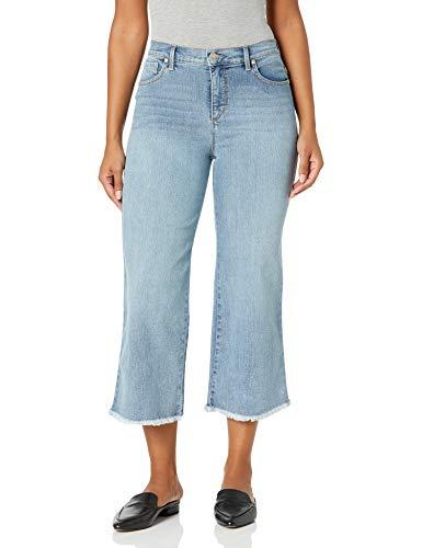 Gloria Vanderbilt Women's Amanda Wide Leg Crop Length Jean, Mendocino, 8