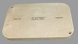 Quazite PG Underground Enclosure Cover, Electric, For Use With 26 x 37-5/8 Enclosure - PG2436CA0017