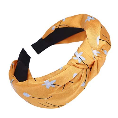Dicomi Cerchietto per Capelli Donna, Fasce da Donna Elasticizzato Hairband Accessorio per Capelli Raccolti Carina Cerchietto per Capelli Copricapo da Sposa