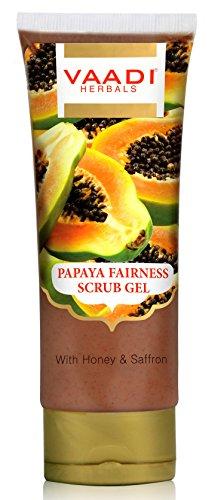 Vaadi Herbals beauté à la papaye Gel nettoyant visage au miel et safran 110 g