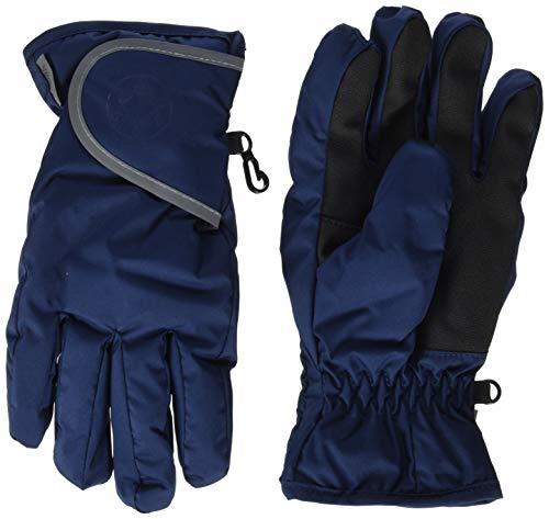 Sterntaler Wasserabweisende und wasserdichte Fingerhandschuhe mit Klettverschluss, Alter: 10-11 Jahre, Größe: 6, Blau (Marine)