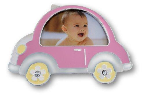 Zep Auto fotolijst, Metaal, Roze, 15x11.5x2.5 cm
