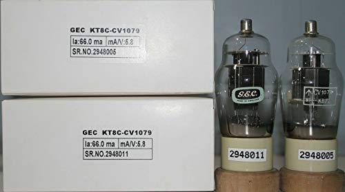 Find Bargain 1MP KT8C CV1079 GEC Ceramic Base Dual O Getter Made in England Tested on AVO 160#2948005&11