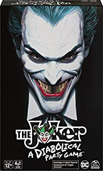 The Joker Diabolical Secret Identity Strategy Party Game for Adults and Kids Ages 12 and up