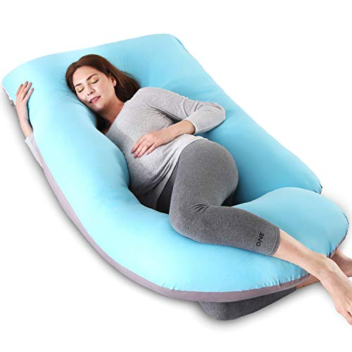 Maternity Pillow for Sleeping, Soft Pregnancy Body...
