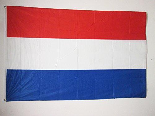 AZ FLAG Flagge NIEDERLANDE 150x90cm - HOLLÄNDISCHE Fahne 90 x 150 cm Aussenverwendung Metallösen - flaggen Top Qualität