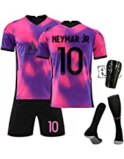 Weqenqing 2021 Thuisshirt, Nummer 10 Shirt, Volwassen En Kinderen Ademende Sneldrogende Jersey Trainingsuniform T-shirt, Volwassen Teamuniform Pak