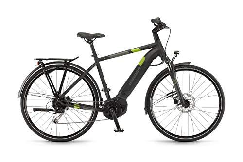 Unbekannt Winora Yucatan i9 500 Pedelec E-Bike Trekking Fahrrad schwarz 2019: Größe: 52cm