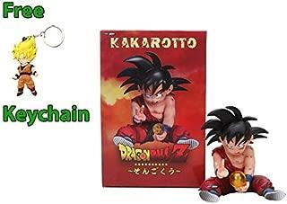 Geek Gear Dragon Ball Z PVC Goku Collection Action Figure Kakarot Doll Statue Free Keychain