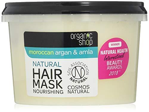 Organic Shop Coconut & Shea haarmasker, per stuk verpakt (1 x 250 ml)