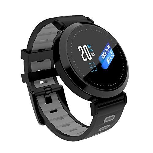 Pulsera inteligente Bluetooth, pantalla multifunción en color, hombres y mujeres, reloj deportivo con llamada inteligente, podómetro del sueño con presión arterial, Android IOS, regalo universal ZDDAB
