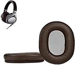 MDR-1A Earpads Replaceable Earmuffs Ear Pad Ear Cushion Repair Parts are Compatible with Sony MDR-1A/1A-DAC /1A-BT Headphones(Dark Brown)