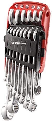 FACOM 440.JP14PB - Juego de llaves combinadas, 14 piezas