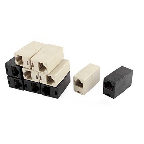Aexit Cat5 RJ45 Lan Red Ethernet Adaptador de unión de cable Ethernet...