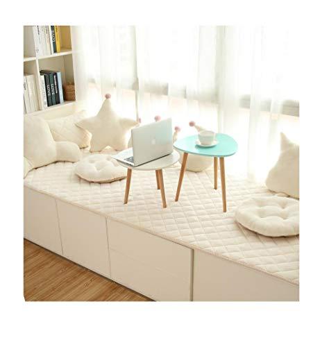 Yanxinenjoy drempelmat, voor glasbessen, vier seizoenen, afdekking voor glazen deur, tattami, wasbaar van vloer tot plafond 80 * 200cm A3