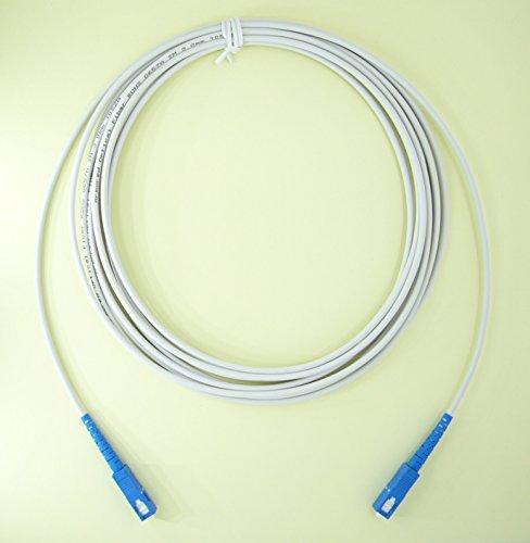 曲げに強い 長尺 光ケーブル 耐圧 宅内配線 SCコネクタ FSC-3M FTNET