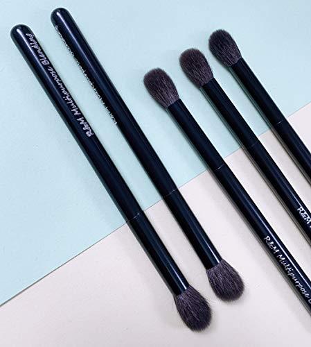 R&M Pinceaux de maquillage de luxe fabriqués à la main – Pinceau professionnel multifonction pour estomper le nez