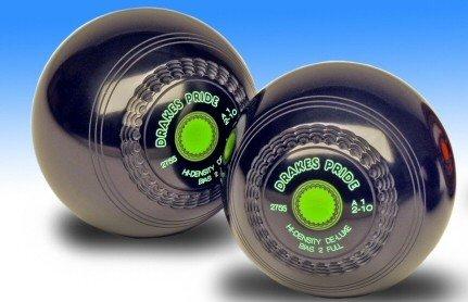 Drakes Pride Luxus Bowlingkugel, hohe Dichte, Grün schwarz schwarz 2-10