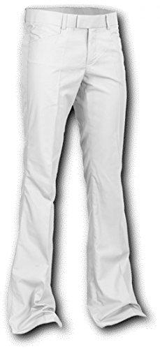 Chenaski Pants White, 70er Jahre Schlaghose Size 2XL