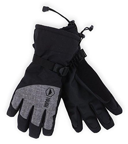 Winter Ski & Snow Gloves for Men & Women - Waterproof & Windproof Snowboard Gloves for Skiing,...