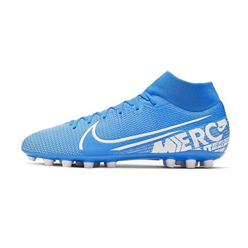 Nike Superfly 7 Academy AG, Botas de fútbol Unisex Adulto, Multicolor (Blue Hero/White/Obsidian 414), 40.5 EU