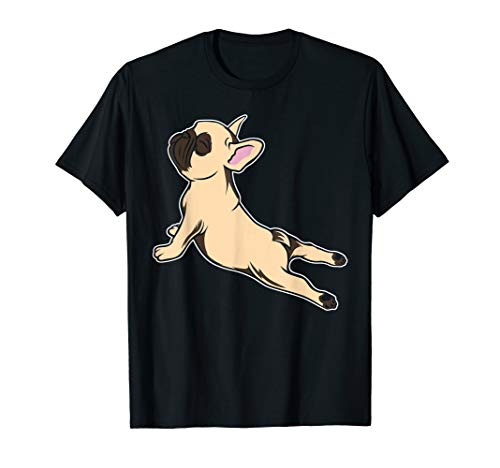 French Bulldog Yoga Shirt - Funny Frenchie TShirt