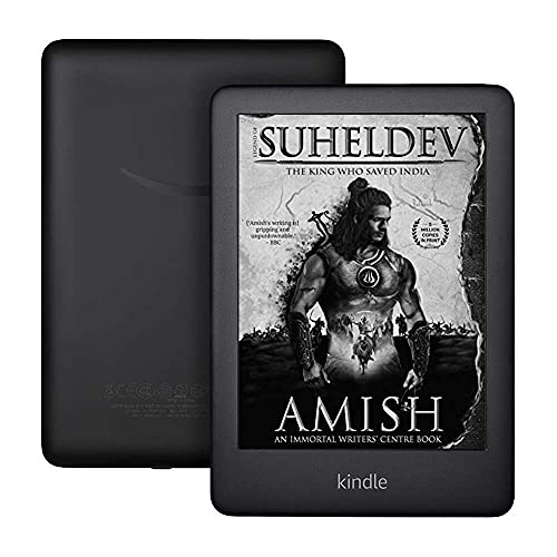 """Kindle (10th Gen), 6"""" Display with Built-in Light,WiFi (Black)"""