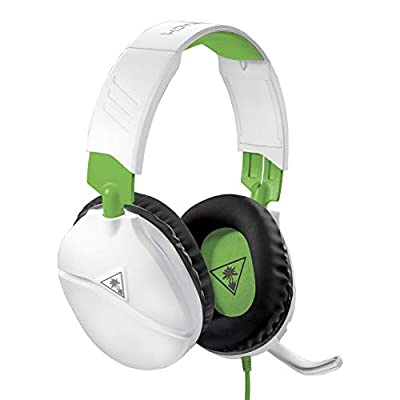 Turtle Beach Recon 70X White Gaming Headset for Xbox One, PS4, Nintendo Switch, & PC