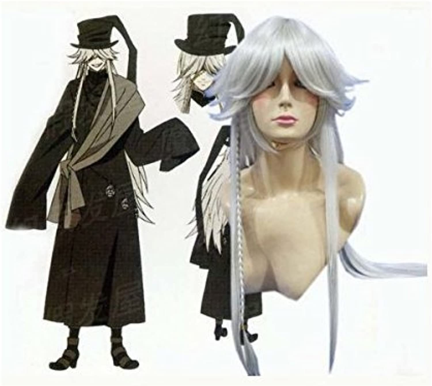 Heat-resistant high-quality wig schwarz Butler cosplay wig funeral director costume (japan import) B007R8G6EM Abgabepreis  | Deutschland Berlin
