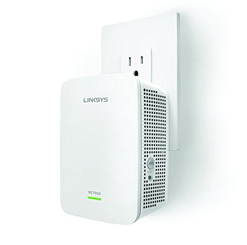 Linksys RE7000 AC1900 Gigabit Range Extender / Wi-Fi Booster /...