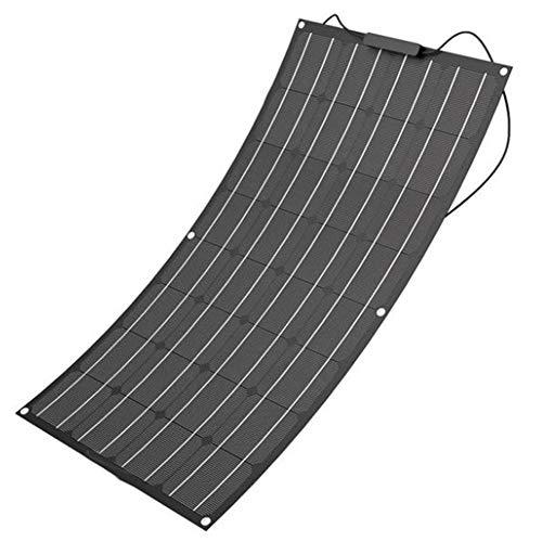 HMLIGHT 100W ETFE Flexible Solar-Panel, Halb Flexible Solarmodule aus ETFE Material, Verwendung langlebiger