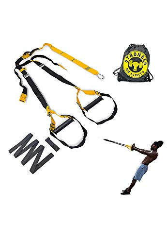 Fita para Treinamento Suspenso - Be Stronger - Presilha - Amarelo