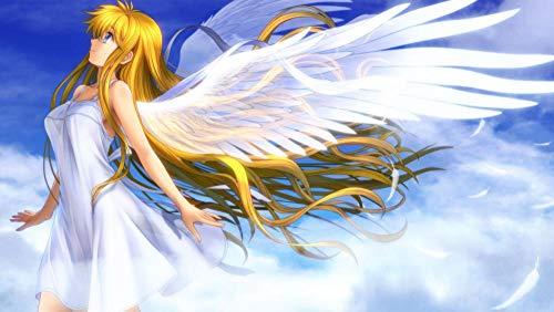 XHXYTSM Rompecabezas para adultos y niños 1000 piezas Fantasía Cartoon-Angel Girl Tangram de lógica de madera Super duro clásico Ocio y entretenimiento Juegos familiares Regalo creatividad