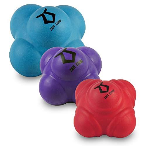 Zen Core Reactionball Original - Reaktionsball zum Trainieren der Reaktionsschnelligkeit, Hand-Augen-Koordination, Geschwindigkeit, Beweglichkeit