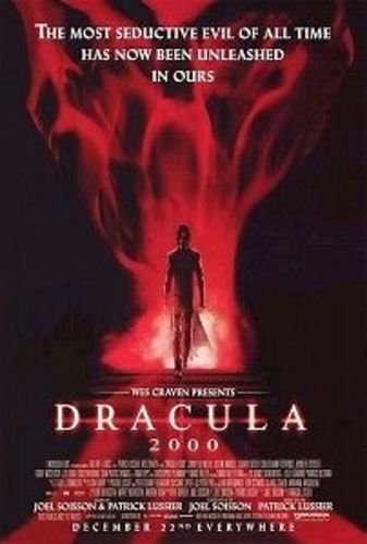 DRACULA 2000 D/S 27'x40' Original Movie Poster One Sheet WES CRAVEN Gerard Butler