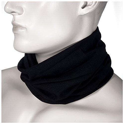 Oramics Unisex Funktionstuch Halsgamasche Nahtlos - Multifunktionstuch Uni atmungsaktiv waschbar schnelltrocknend - Mikrofaser Schlauchschal Bandana Schal Stirnband Halstuch Unifarben