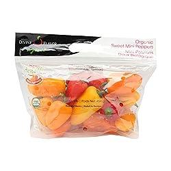 Pepper Sweet Mini Organic, 16 Ounce