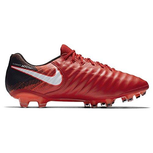 Nike Tiempo Legend VII Fußballschuhe Herren 42 schwarz, rot, weiß