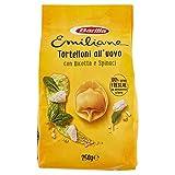 Barilla Pasta Emiliane Tortelloni all'Uovo con Ricotta e Spinaci, 250g