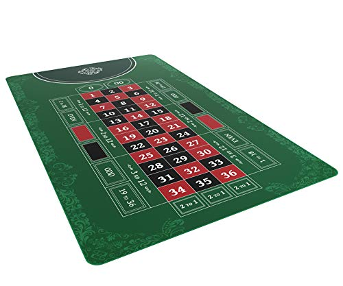 Bullets Playing Cards - Roulette Layout - Table Top Mat 60