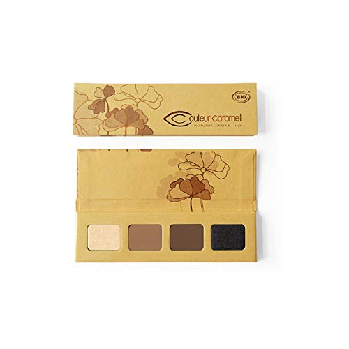 Couleur Caramel Bio Palette Regard Sublime Edition Limitée 4 Fards à Paupières n°49