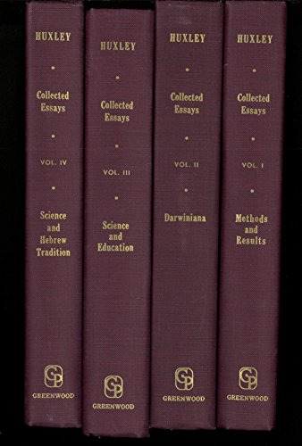 Thomas Henry Huxley Collected Essays (9 Volumes)